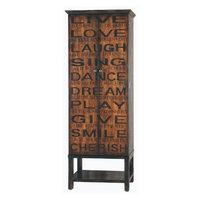 Pulaski Accents Artistic Expressions Wine Cabinet in Greenwich Village