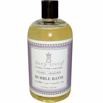 Deep Steep Bubble Bath Lavender Chamomile 17 fl oz