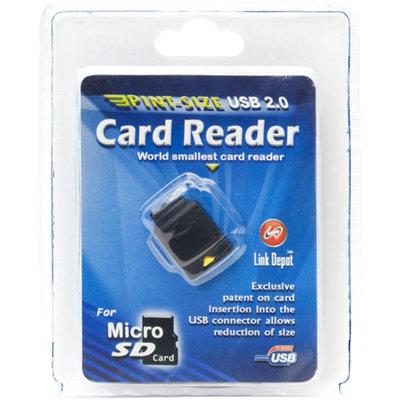 Link Depot USB 2.0 Flash Memory Card Reader (MicroSD/Secure Digital SD)