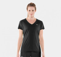 Women's UA TECH Shortsleeve V-Neck