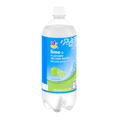 Ahold Flavored Seltzer Water Lime