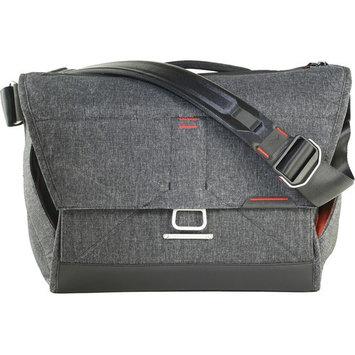 Peak Design The Everyday Messenger Shoulder Bag for DSLR, 3 Lenses, & Accessories, Charcoal