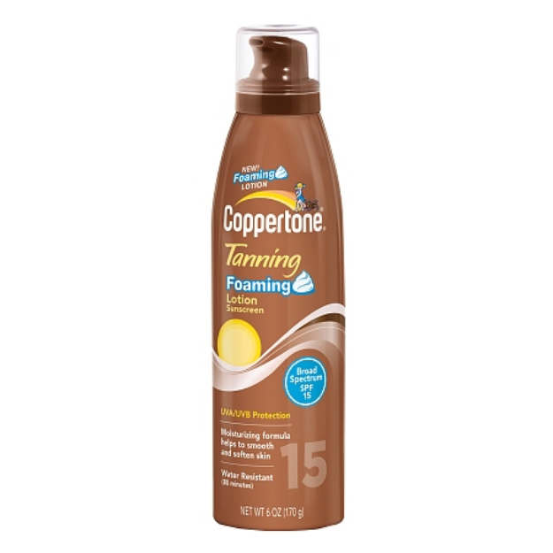 Coppertone Tanning Foaming Lotion SPF 15