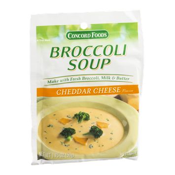 Concord Foods Broccoli Soup Cheddar Cheese