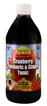 Dynamic Health Laboratories Dynamic Health - Turmeric and Ginger Tonic Cranberry - 16 oz.