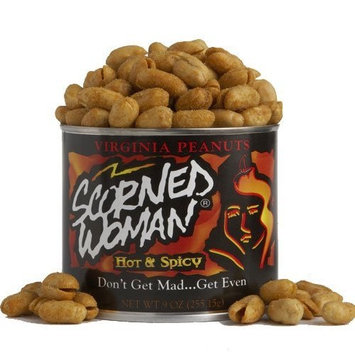 Scorned Woman Scorned Woman Virginia Peanuts, 9-Ounce Cans (Pack of 4)