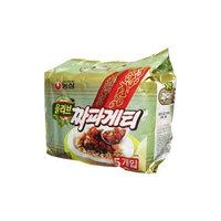 Nong Shim Nongshim Chapagetti Chajang Noodle, 4.5-oz 5 Packs (Made in USA)