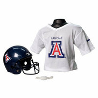 NCAA Franklin Sports Arizona Helmet/Jersey set- OSFM ages 5-9