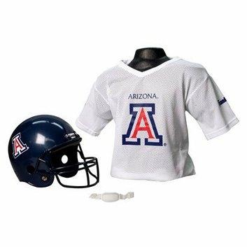 NCAA Franklin Sports Arizona Helmet/Jersey set- OSFM ages 5-9
