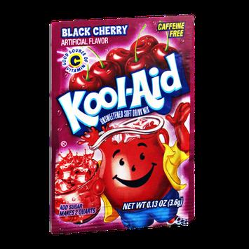 Kool-Aid Black Cherry Caffeine Free Unsweetened Soft Drink Mix