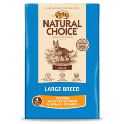 Nutro Natural Choice NUTROA NATURAL CHOICEA Large Breed Adult Dog Food