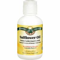 Spring Valley Safflower Oil Strawberry Cream Liquid Dietary Supplement