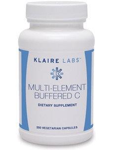 Klaire Labs, Multi-Element Buffered C 250 Vegetarian Capsules