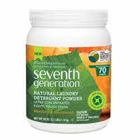 Seventh Generation Powder Laundry, Mandarin & Sandalwood, 50 oz