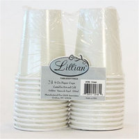 King Zak Ind Lillian Tablesettings 25785 Cream Solid 9 Oz Cup Twin Stack - 576 Per Case