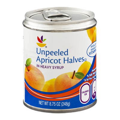 Ahold Apricot Halves Unpeeled