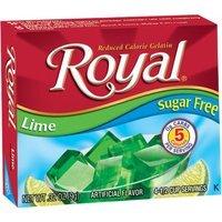 Jelsert Royal Lime Reduced Calorie Gelatin, 0.32 oz, (Pack of 12)