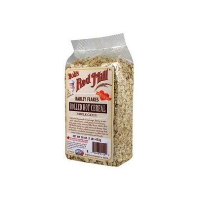 Bob's Red Mill Flakes Rolled Barley, 16-ounces (Pack of4)