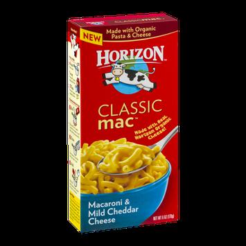 Horizon Classic  Mac Macaroni & Mild Cheddar Cheese
