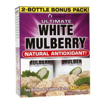 PhytoGenix Ultimate White Mulberry Natural Antioxidant, Caplets