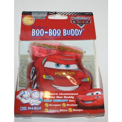 Disney Pixar Cars Lighting McQeen Boo Boo Buddy Reusable Cold Pack