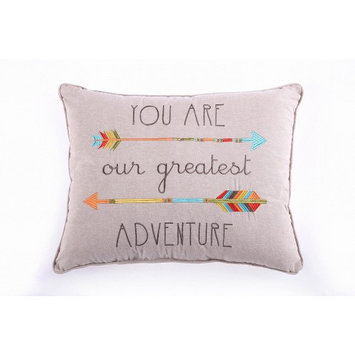 Levtex Baby You Are Our Greatest Adventure Pillow