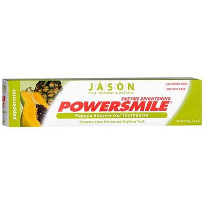 Jason Natural Cosmetics Powersmile Enzyme Brightening Gel Toothpaste