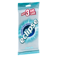Wrigley's Eclipse Polar Ice Sugarfree Gum - 3 PK