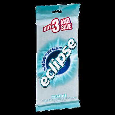 Wrigley's Eclipse Polar Ice Sugarfree Gum - 3 PK