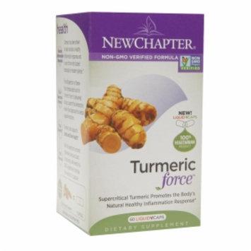 New Chapter Turmeric Force, Vegetarian Capsules, 60 ea