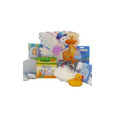 Art Of Appreciation Gift Baskets Look What The Stork Brought! Baby Gift Bag, Blue Boys or Pink Girls