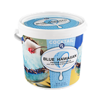 Cocktail RX Frozen Cocktails Blue Hawaiian