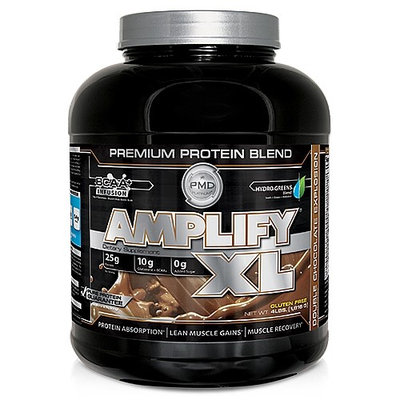 NDS Nutrition - PMD Platinum Amplify XL Premium Protein Blend Double Chocolate Explosion - 4 lbs.