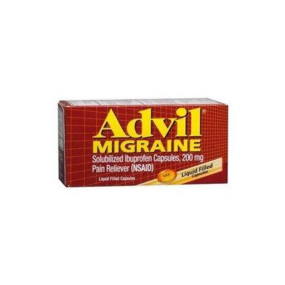 Wyeth Consumer Healthcare Migraine, 200 mg, Liquid Filled Capsules, 80 capsules