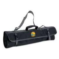 Golden State Warriors 3pc BBQ Tote (Black)