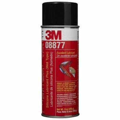 3M 08877 Silicone Lubricant Plus (Wet Type)