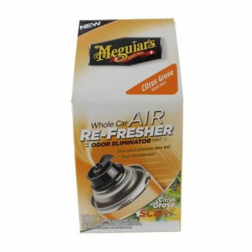MEGUIARS INC - Car Air Refresher, Citrus Grove Scent, 2-oz.
