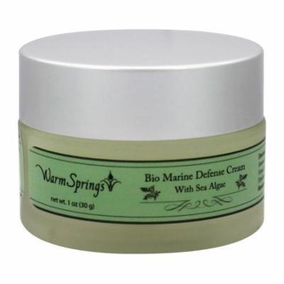 Warm Springs - Bio Marine Defense Cream with Sea Algae - 1 oz.