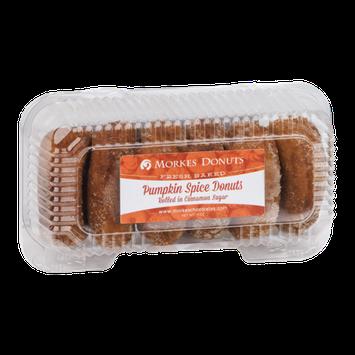 Morkes Pumpkin Spice Donuts - 6 CT