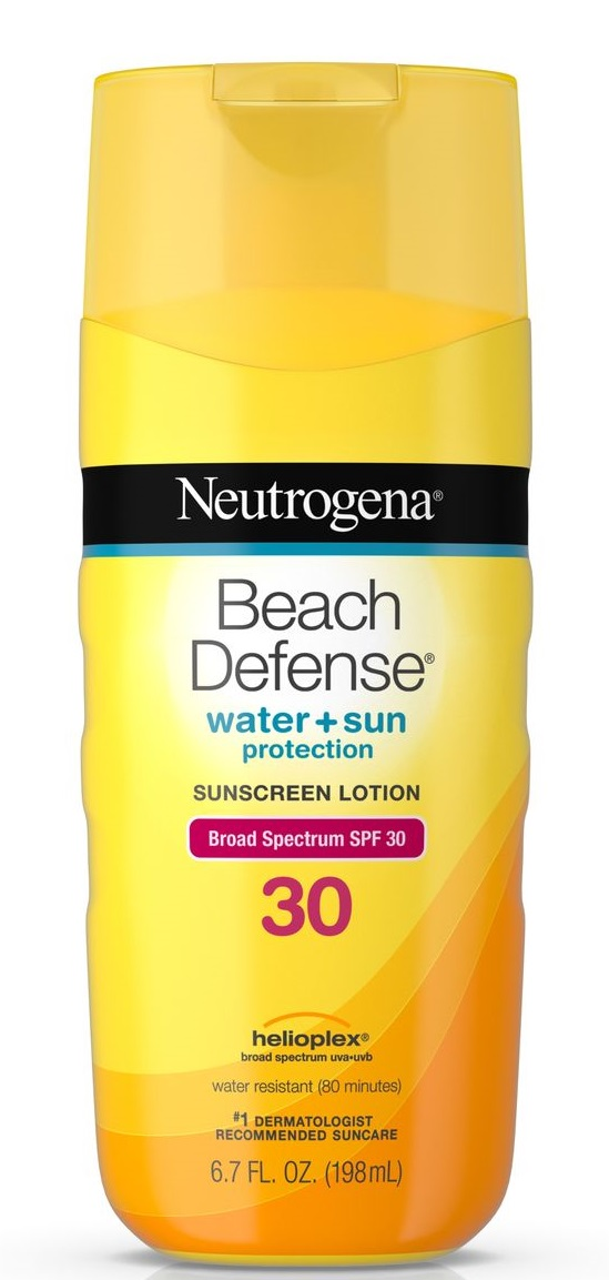 Neutrogena® Beach Defense® Water + Sun Protection Sunscreen Lotion Broad Spectrum SPF 30