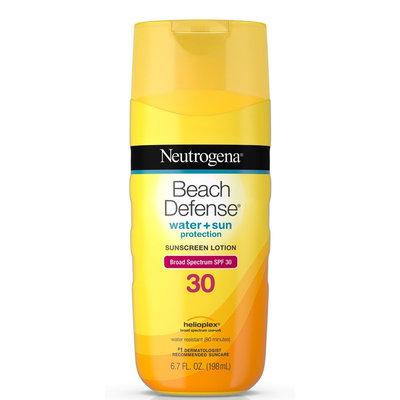Neutrogena® Beach Defense® Water + Sun Protection Sunscreen Lotion Broad Spectrum SPF 30