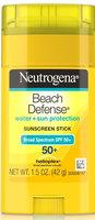 Neutrogena® Beach Defense® Water + Sun Protection Sunscreen Stick Broad Spectrum SPF 50+