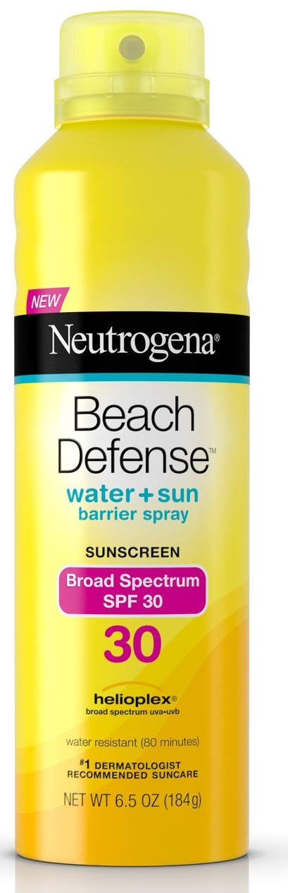 Neutrogena® Beach Defense® Water + Sun Protection Sunscreen Spray Broad Spectrum SPF 30