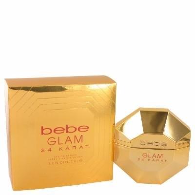 Bebe Glam 24 Karat for Women by Bebe Eau De Parfum Spray 3.4 oz