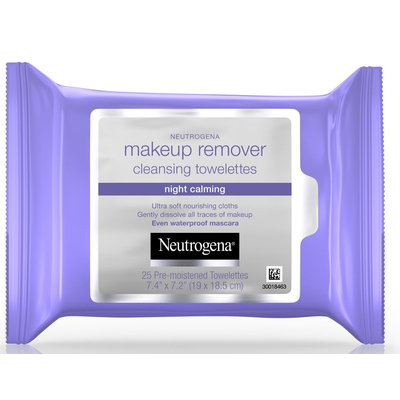 Neutrogena® Makeup Remover Cleansing Towelettes-Night Calming
