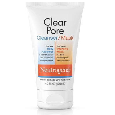 Neutrogena® Clear Pore Cleanser/Mask