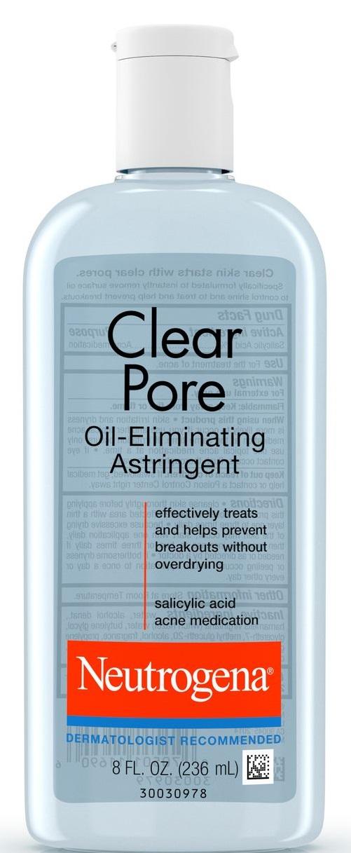 Neutrogena® Clear Pore Oil-Eliminating Astringent