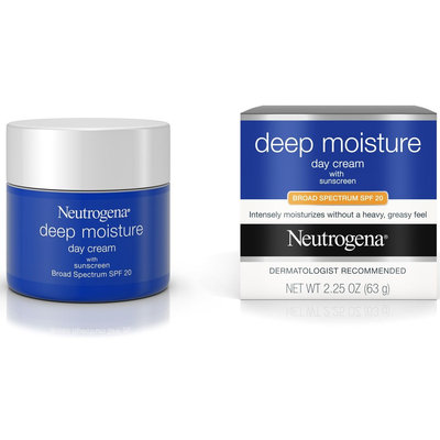 Neutrogena® Deep Moisture Day Cream with Sunscreen Broad Spectrum SPF 20