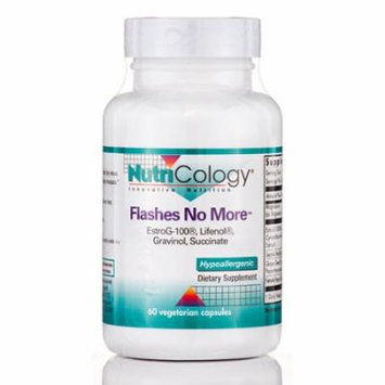 Flashes No More - 60 Vegetarian Capsules by NutriCology