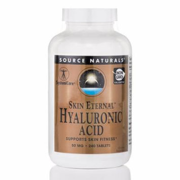 Skin Eternal� Hyaluronic Acid 50 mg - 240 Tablets by Source Naturals